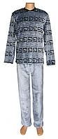 NEW! Зимние мужские махровые пижамы - серия Grey Versace вельсофт ТМ УКРТРИКОТАЖ!