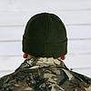 Шапка флисовая – Хаки , фото 5