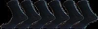 """Чоловічі шкарпетки лайкра чорні """"lomani"""""""