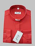 Рубашка для священников  красного цвета с длинным рукавом, фото 4