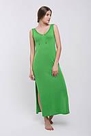 Платье в пол PS439   (46-48, зеленый )
