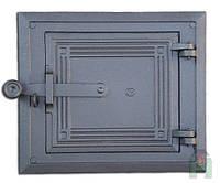 Дверки чугунные Halmat DPK5 250X280. Дверцы для печи и барбекю
