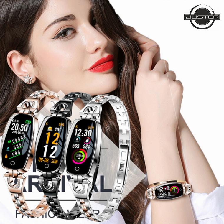 Смарт Часы H8 с цветным OLED дисплеем, замером давления