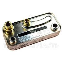 Теплообменник ГВС вторичный пластинчатый 15 пл. Immergas Nike/Eolo Mini (c ручками) - 1.013430
