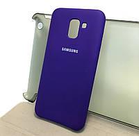 Чохол накладка Silicone Cover для Samsung Galaxy J6 2018 (J600)