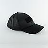 Бейсболка с нашивкой Velcro – Черная, фото 3