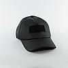 Бейсболка с нашивкой Velcro – Черная, фото 6