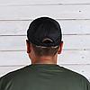 Бейсболка с нашивкой Velcro – Черная, фото 7