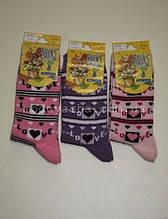 Шкарпетки для дівчинки кольорові 9-10 р.