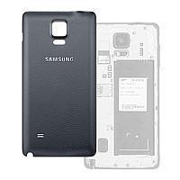 Задня кришка для смартфону Samsung N910H, N910F Galaxy Note 4, чорна