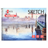 Альбом Paper Watercolour Collection А5, 200г/м2, 10л