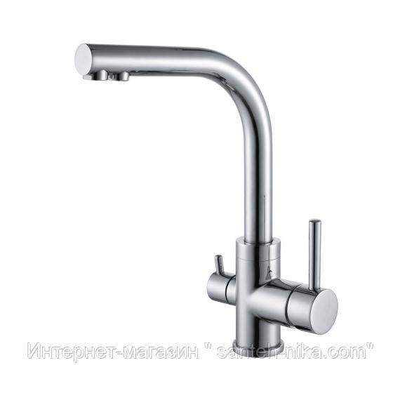 Кухонный смеситель с функцией питьевой воды Aquasanita Akvaduo 2663