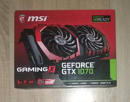 Видеокарта MSI GeForce GTX 1070 GAMING X 8G, фото 2