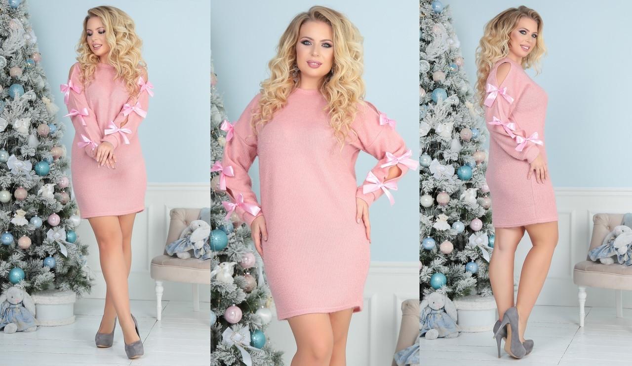 4a351083274 Женское нарядное платье-туника в больших размерах