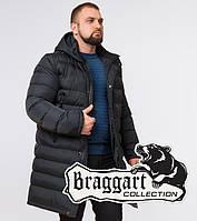 Куртка удлиненная зимняя Braggart Aggressive - 23482N графит