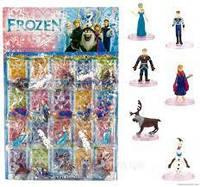 Герої Frozen по-штучно