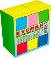 """Кубики """"Вивчаємо Кольори"""" (4куб)"""