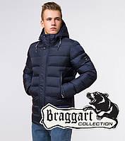 Куртка мужская зимняя Braggart Aggressive - 37533K сине-черная