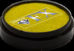 Аквагрим Diamond FX металлик жёлтый 10 g