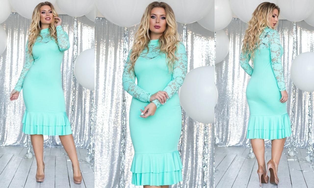 ba5194a69a9eed3 Элегантное вечернее женское платье в больших размерах