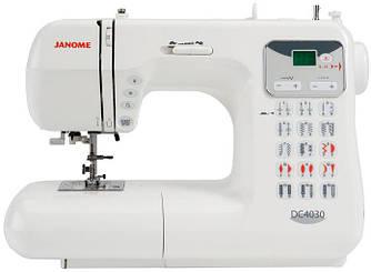 Janome DC 4030, компьютерная бытовая швейная машина, 6 шаблонов петель, 30 швейных операций