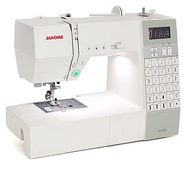 Janome DC 6030, компьютерная швейная машина с автоматической обрезкой нити, 4 вида петель, 30 швейных операций