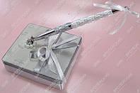 Ручка на подставке Жемчужины & Серебро  класса Люкс