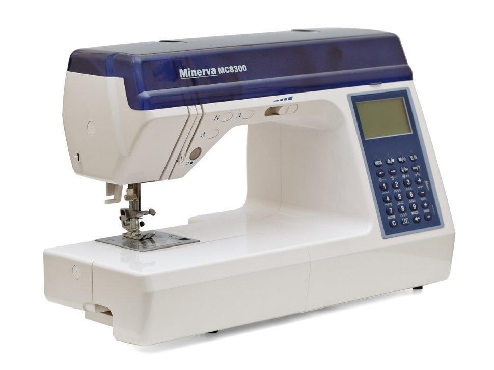 Minerva MC 8300, компьютерная бытовая швейная машина, 12 шаблонов петель, 536 швейных операций