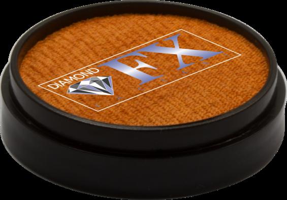 Аквагрим Diamond FX металлик оранжевый 10 g, фото 2