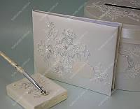 Книга пожеланий Amazing Lace Ivory класса Люкс