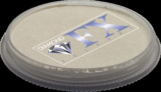 Аквагрим Diamond FX металлик белый 30 g