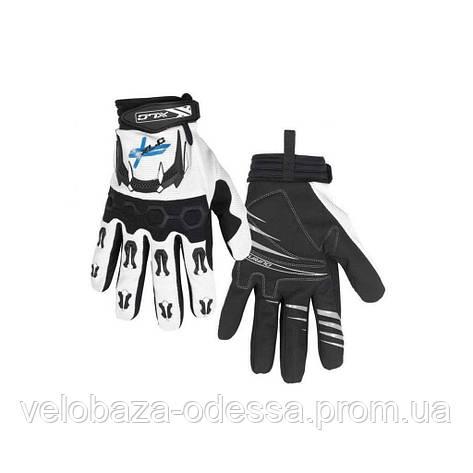 Перчатки XLC CG-L06 LongFinger, черно-белые, ХХL, фото 2