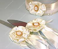 Свадебные украшения на приборы для золотой свадьбы класса Люкс