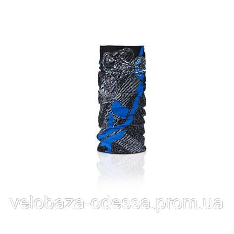 Бафф XLC BH-X02, черно-серо-синий, фото 2