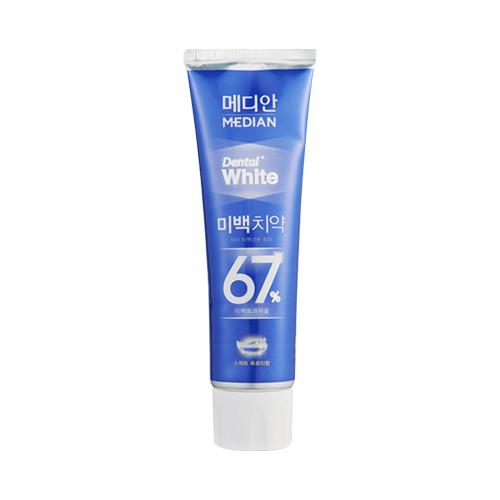 Отбеливающая зубная паста Median Dental White Whitening Toothpaste - Sweet Fruity
