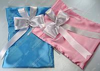 Мешочки для сбора денег Голубой розовый класса Люкс