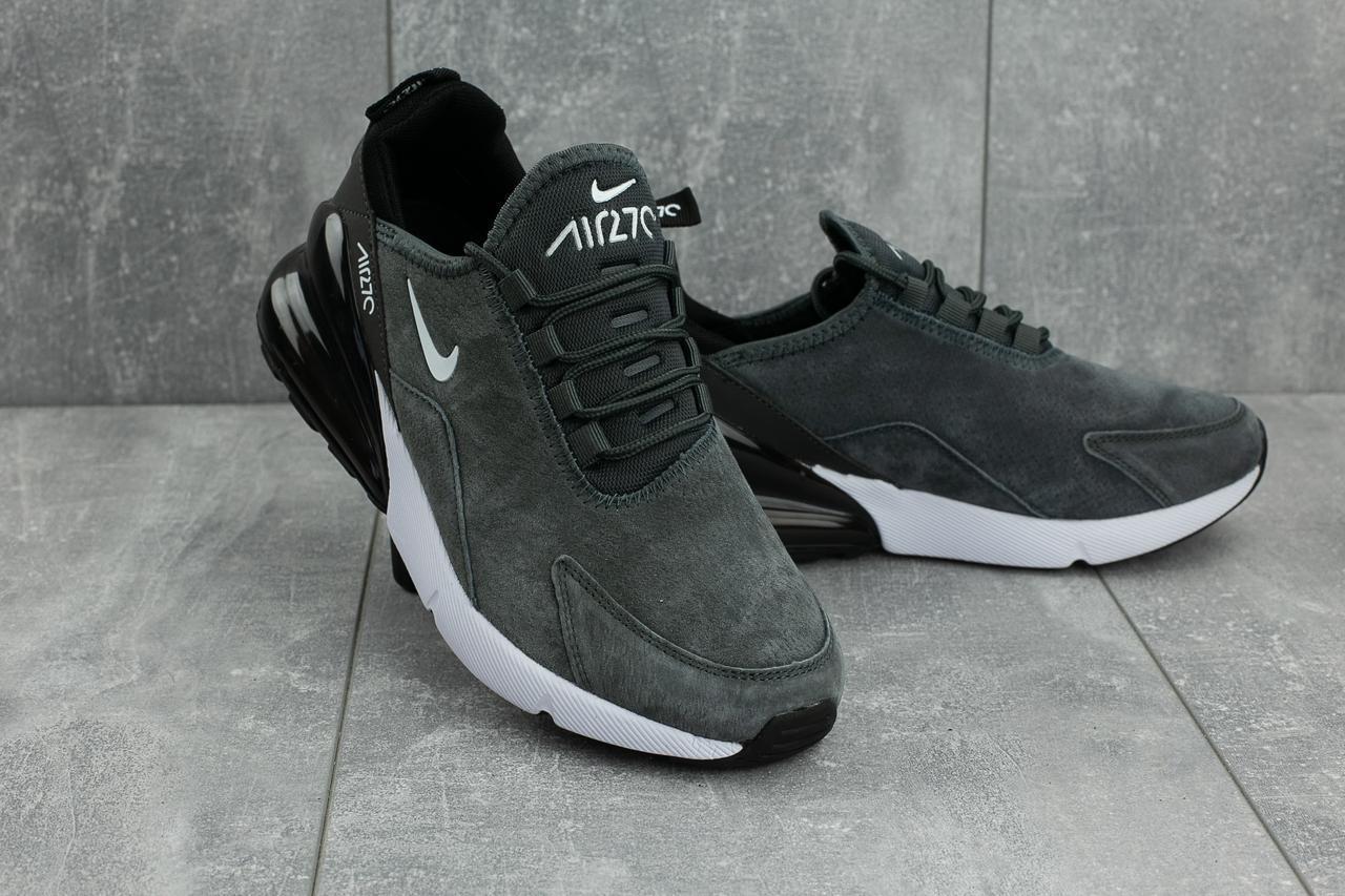Кроссовки A 5058-3 (Nike Air 270) (весна-осень, мужские, замша ... 786bc51f7cc