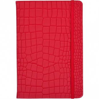 Блокнот на резинке 21×14 см твердый переплет, кож/зам 5605–11       5605-11, фото 2
