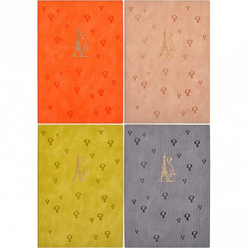 Блокнот 21×14,5 см интегральная обл. , кож/зам 98 л. линия 25–81            25-81, фото 2