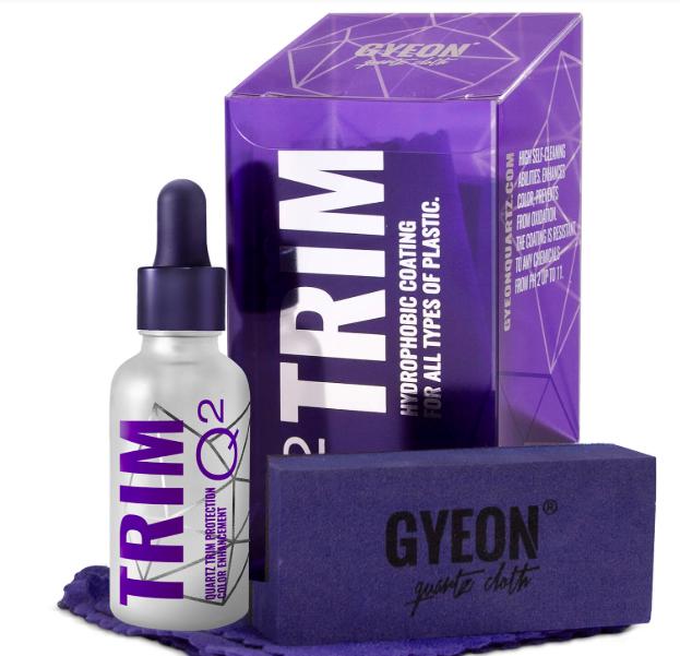 Gyeon Q2 Trim, кварцевое покрытие для пластиковых и хромированных элементов экстерьера автомобиля, 30ml