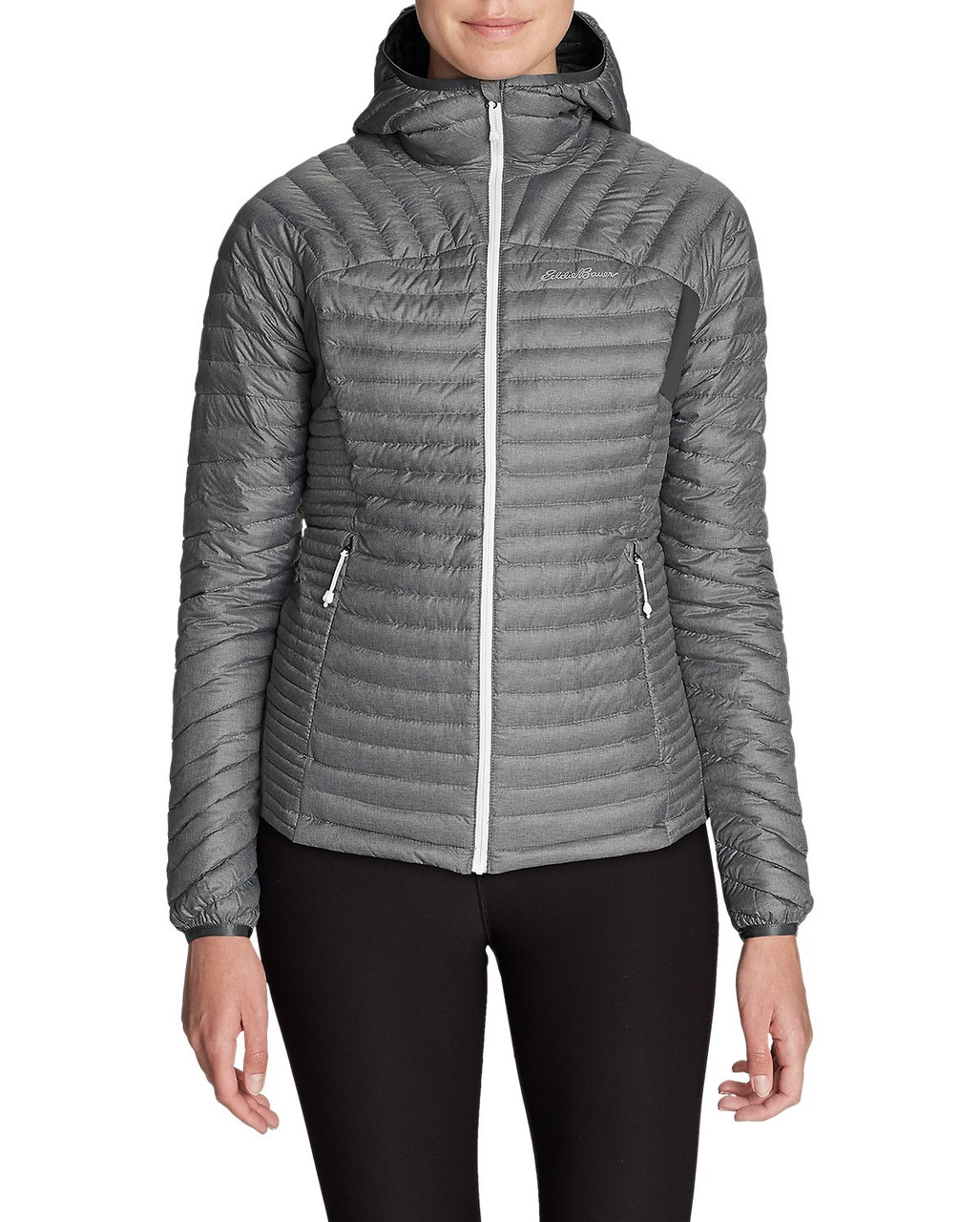 Куртка Eddie Bauer Womens MicroTherm StormDown Hooded Jacket M