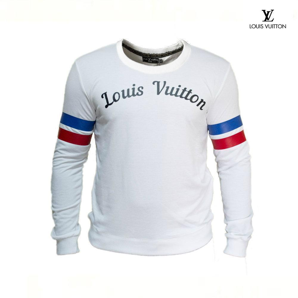 c6efa9f82b46 Мужской свитшот Louis Vuitton. Ткань двухнить. 70% коттон, 30% эластан -