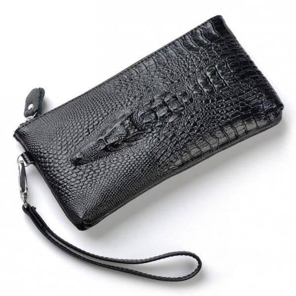 Клатч Alligator  bag ZQ850 черный