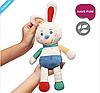Игрушка-обнимашка Кролик Джерри 0+ BabyOno, фото 2