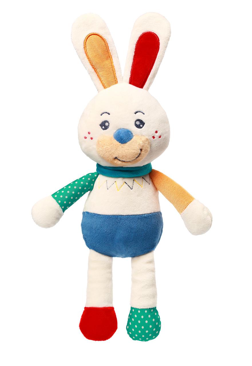 Игрушка-обнимашка Кролик Джерри 0+ BabyOno