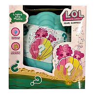 Куколка LOL Surprise в ракушке с музыкой и светом, аналог LOL- классный подарок для девочки