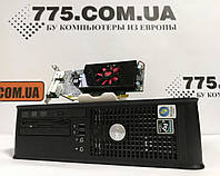Компьютер Dell 740 (SFF), AMD Athlon X2 3800 2.0ГГц, RAM 6ГБ, HDD 250ГБ, Видеокарта HD 8570 1GB, фото 1