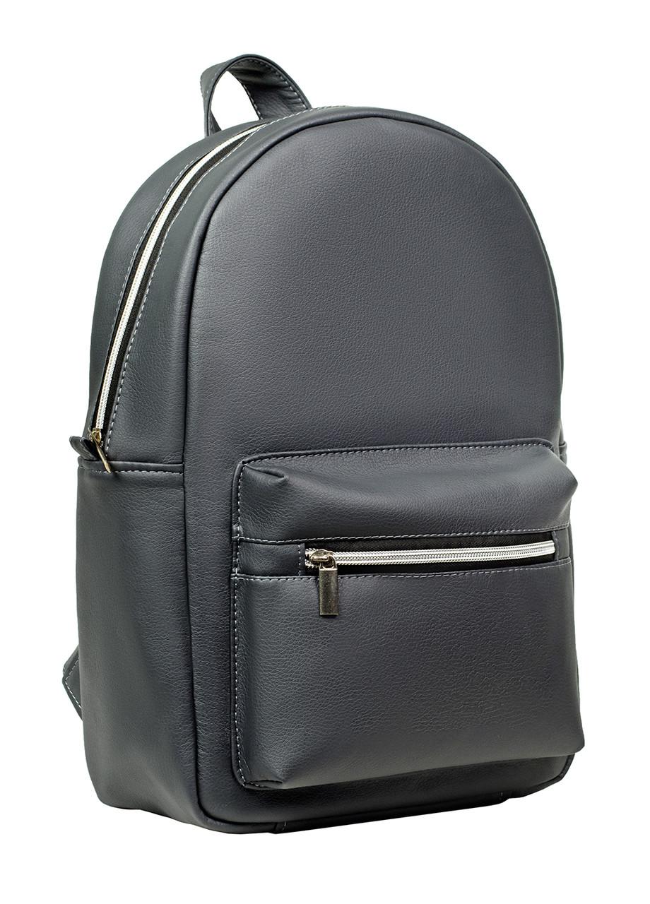 Женский рюкзак Самбег Брикс LSSP серый графит