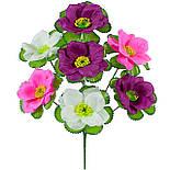 Букет  лотоса трехцветного, 38см (24 шт. в уп), фото 3