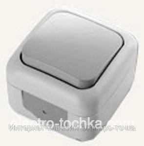 VI-KO PALMIYE  выключатель проходной  IP-54 (серый)